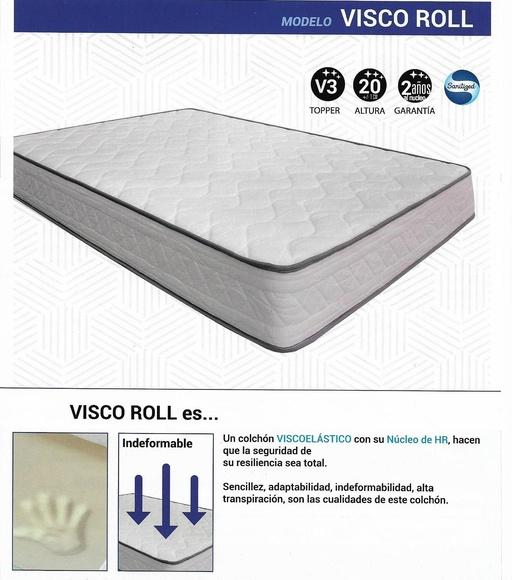 Colchón Visco Roll.: CATALOGO de Aquí Colchón