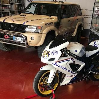 Reparación de vehículos y motocicletas