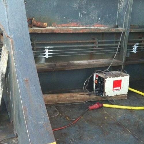 Una de nuestras máquinas para la colocación de pinchos