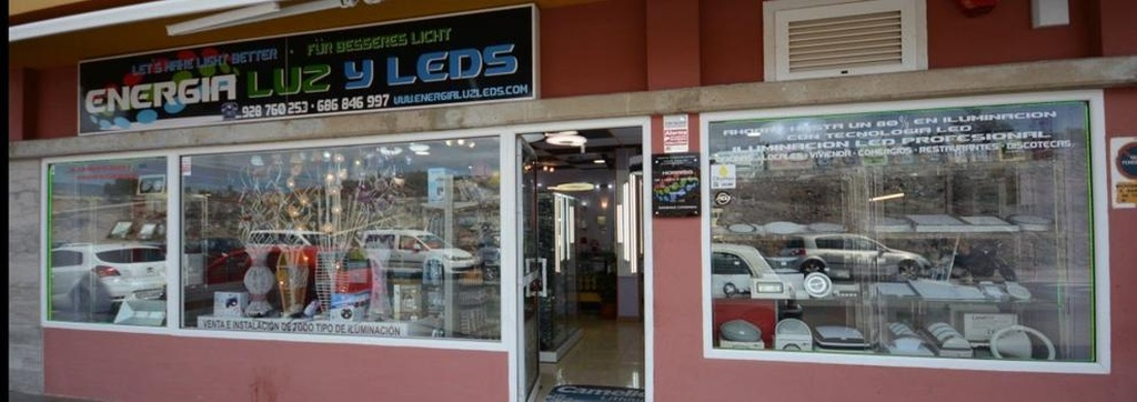 Lámparas leds Las Palmas