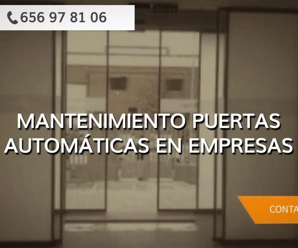 Puertas automáticas en Alcalá de Henares | Complumatic