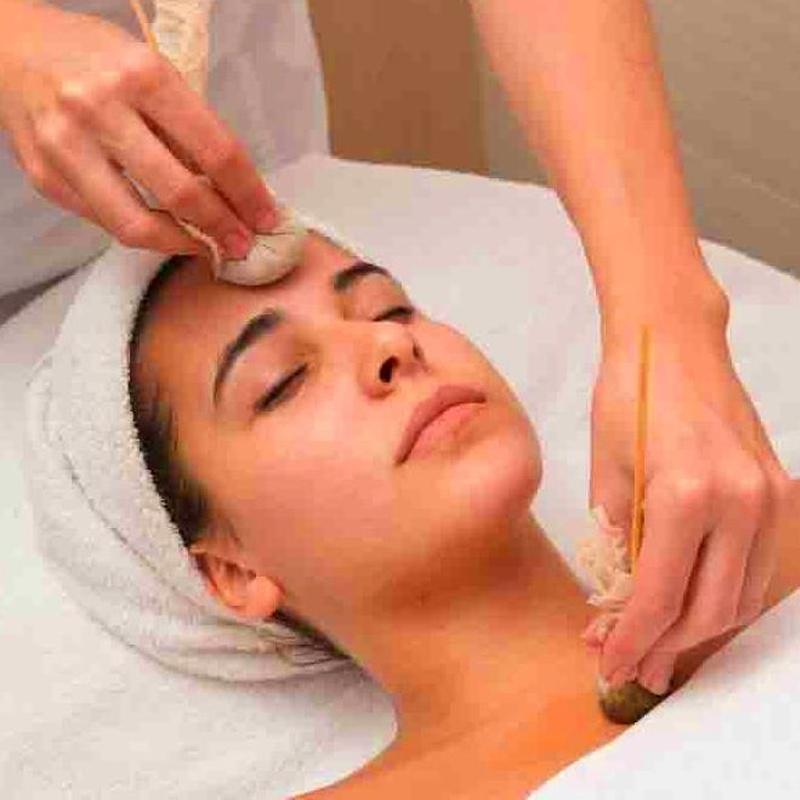 Tratamiento facial ayurvédico natural Kerala, Alicante Relajante