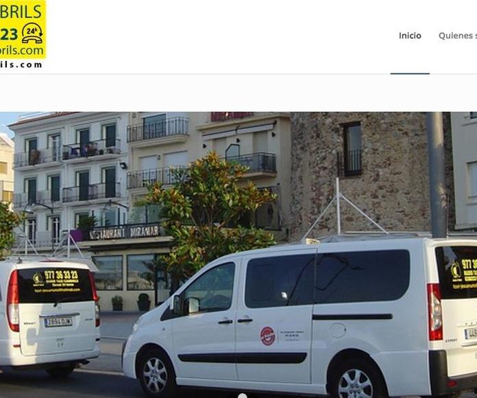 Nueva web Taxicambrils.com
