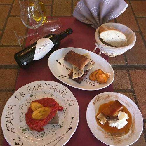 Restaurante recomendado en Bustarviejo