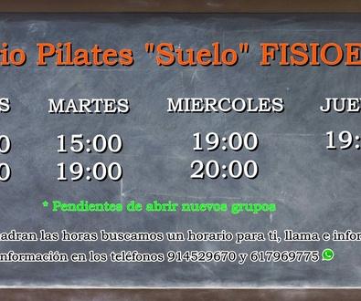 """Nuestros Grupos de Pilates de """"Suelo"""""""