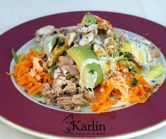 Entrantes: Carta de El Mago Karlín Restaurante Melenara