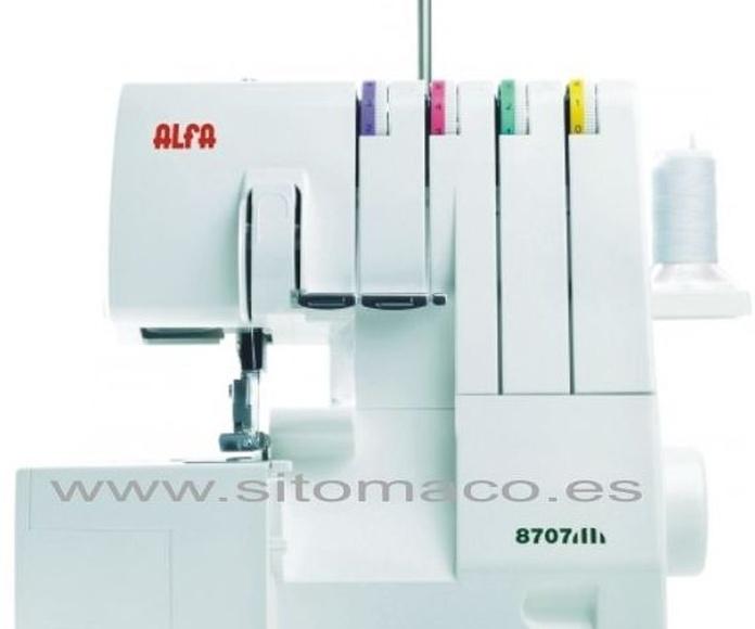 Nueva remalladora ALFA 4 hilos