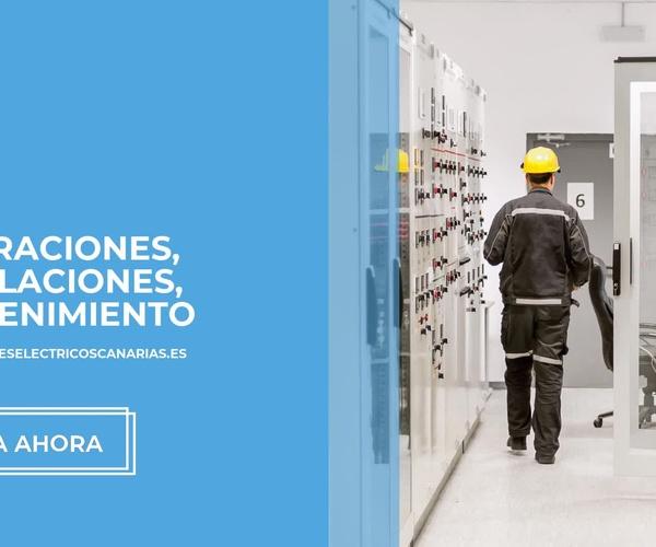 Electricista industrial Tenerife | Montajes Eléctricos Eduardo
