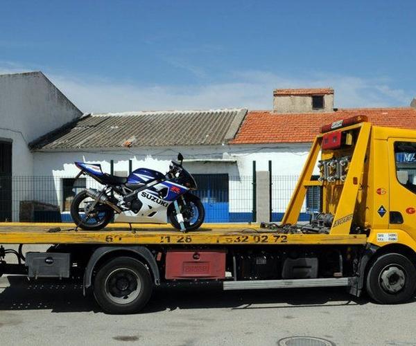 Grúas para motos