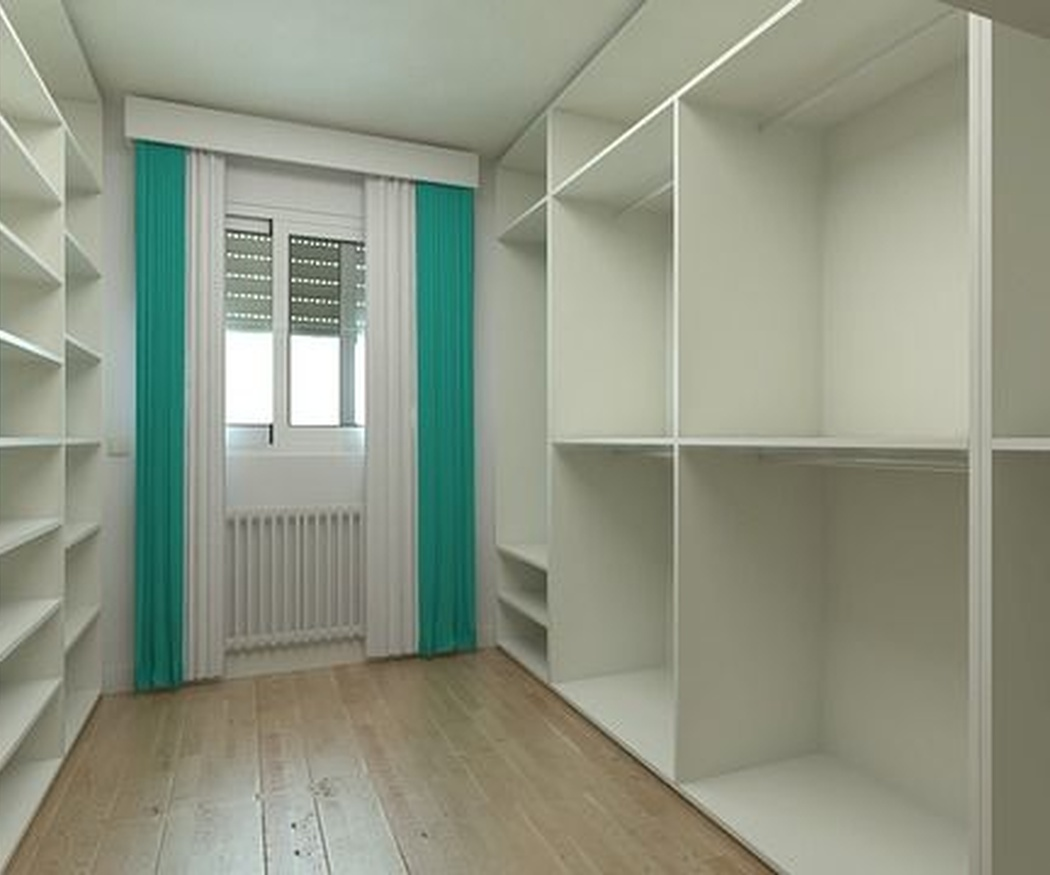 Un vestidor para cada estilo de hogar
