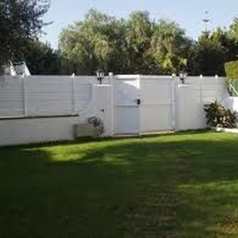 4.6 Vallas y puertas de jardín:  de Puertas Miret