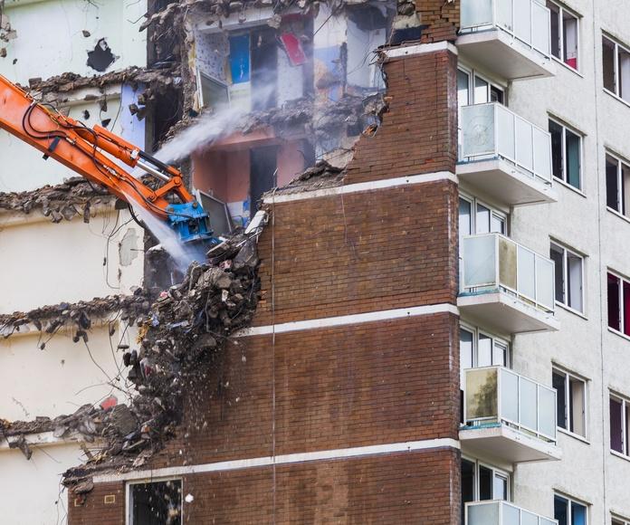 Trabajos de demoliciones: Servicios de TDR