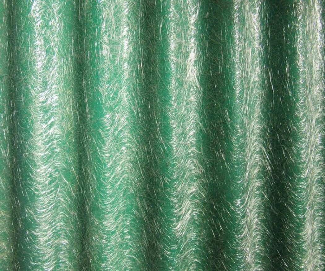 La fibra de vidrio para los techos