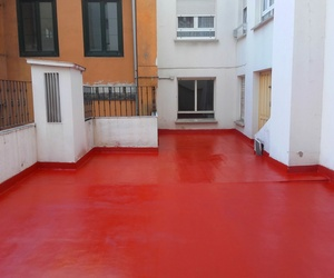 Impermeabilización de terrazas con poliuretano liquido