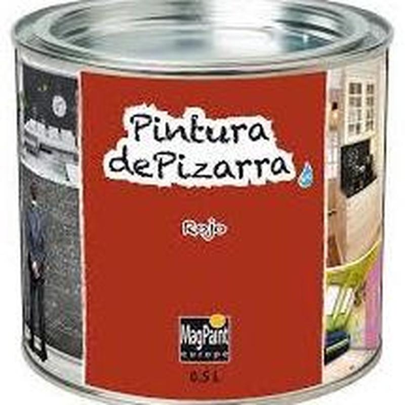 Pintura pizarra REGARSA cualquier color en almacén EL PINTURAS en ciudad lineal.