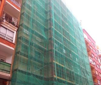 Revestimiento y pintura de fachada  verticalistas Santander-Torrelavega.: Trabajos verticales Santander  de Trabajos Verticales Cantabria