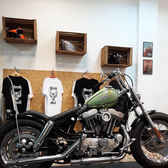 Harley davidson, shovelhead , bobber, chopper, custom ,motos custom Valencia, motos oldschool