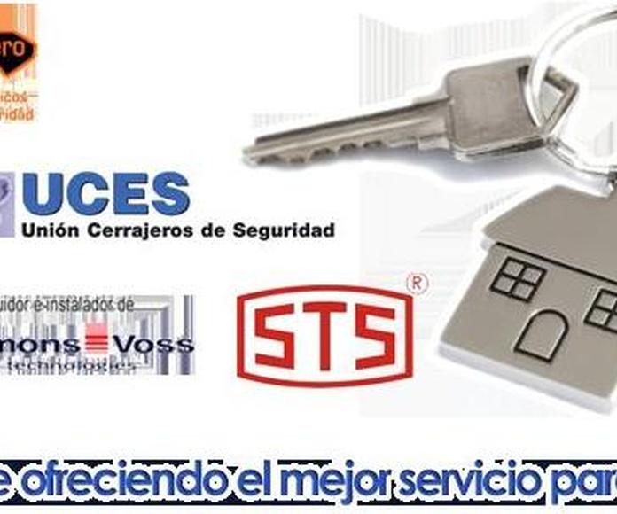 Nuestros servicios: Servicios de Blanco Cerrajeros