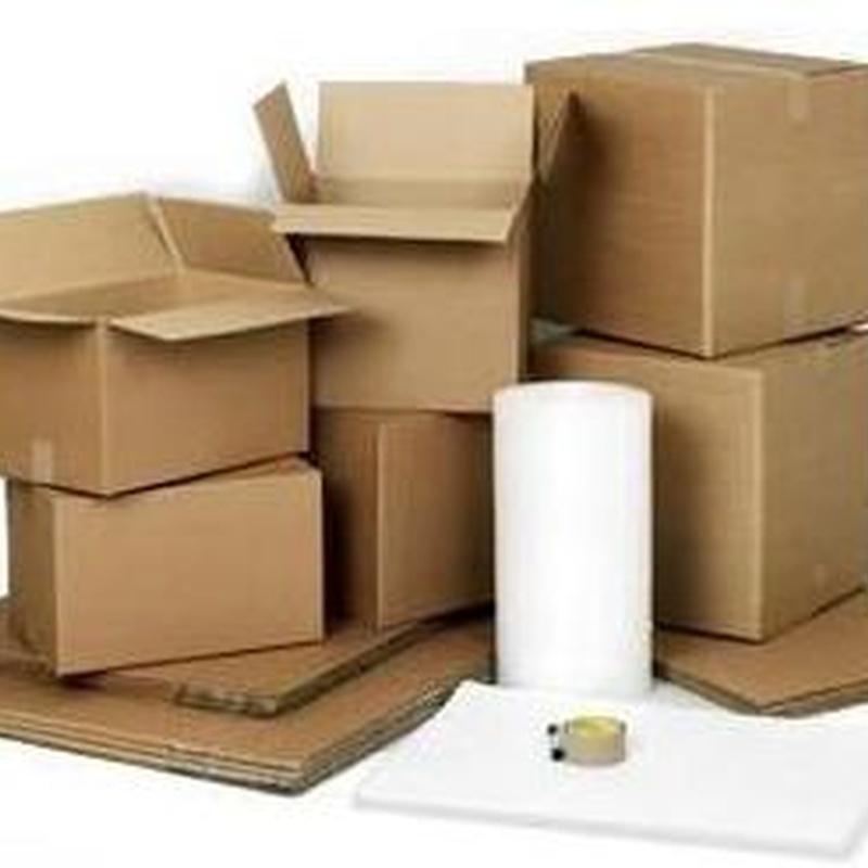 Embalaje: Productos y servicios de Transportes El Jaime