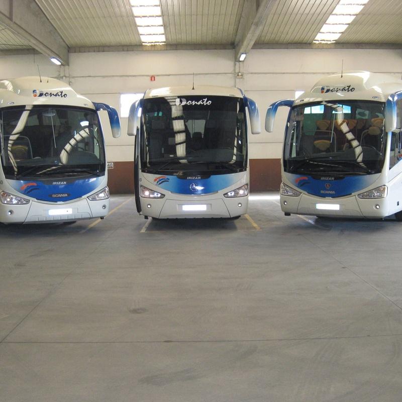 Buses 40, 46 y 49 de 55 plazas