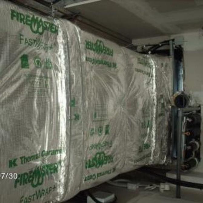 Medidas de protección pasiva contra incendios