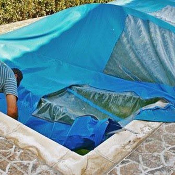El mantenimiento de la piscina en invierno