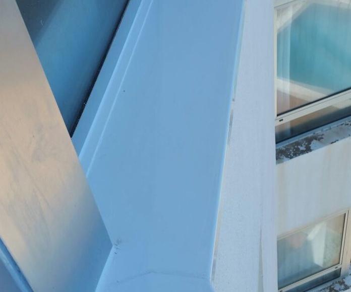 Cerramiento de terraza en pvc: ALUMINIO - PVC de ALUMINIOS CARPAL