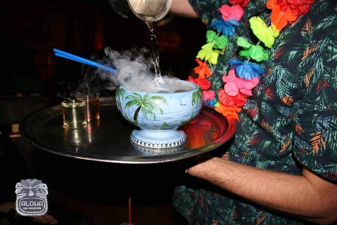 Ácido: Cócteles de Aloha