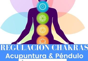 Regulación de Chakras con Acupuntura & Péndulo 5 de Septiembre 2021