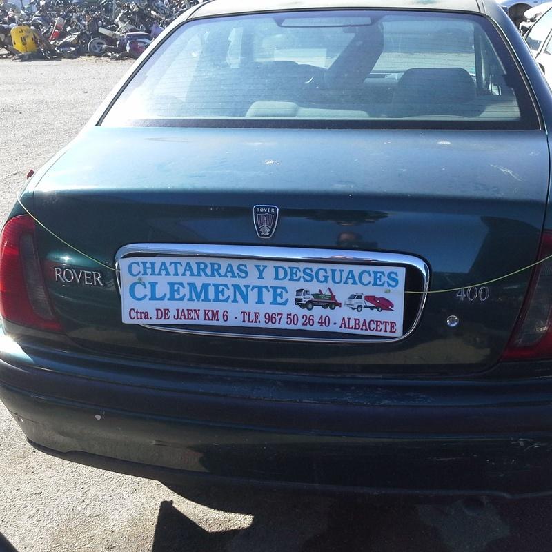 rover 400 para desguace en desguaces Clemente de Albacete