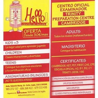 Hello! Centro de Inglés