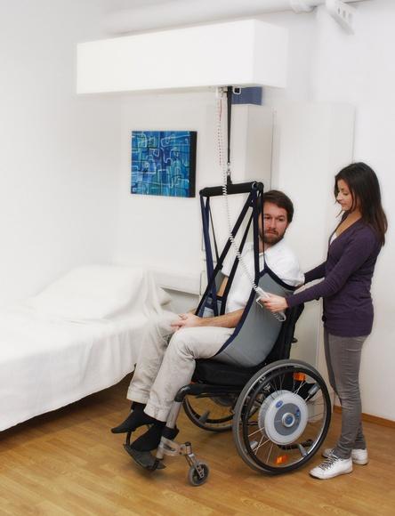 Grúas de elevación y traslado: Productos  de Grupo Ortopedia Mayor