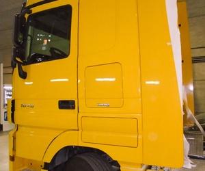 Reparación de carrocería en vehículos industriales