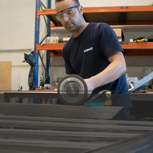 Trabajos en acero inoxidable en Sevilla | Icminox