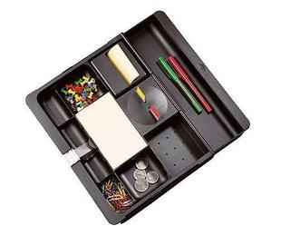 3M Organizador cajón C71 Poliestiro Negro  REF C-71