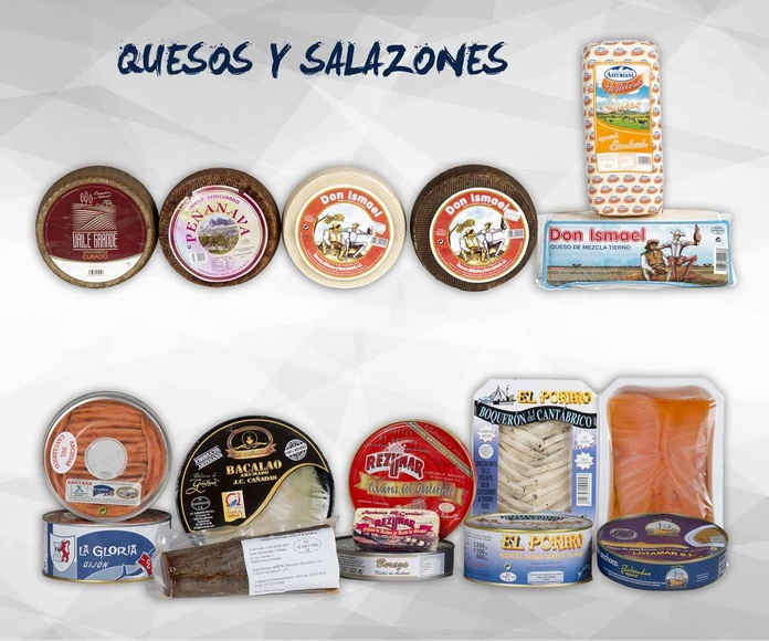 Quesos y salazones: Productos de Exclusivas San Luis