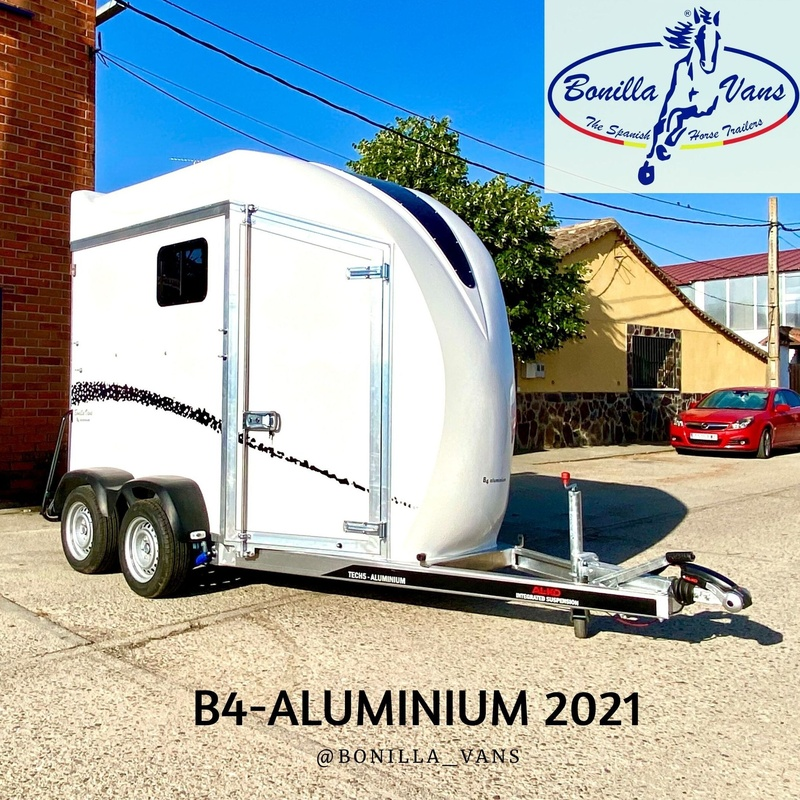 Remolque van para caballos B4-Aluminium 2021