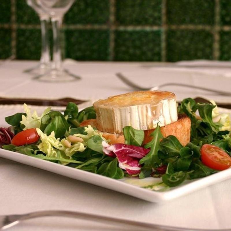 Ensaladas: Carta de Restaurante Arànega