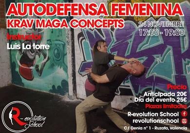 Taller Autodefensa Femenina