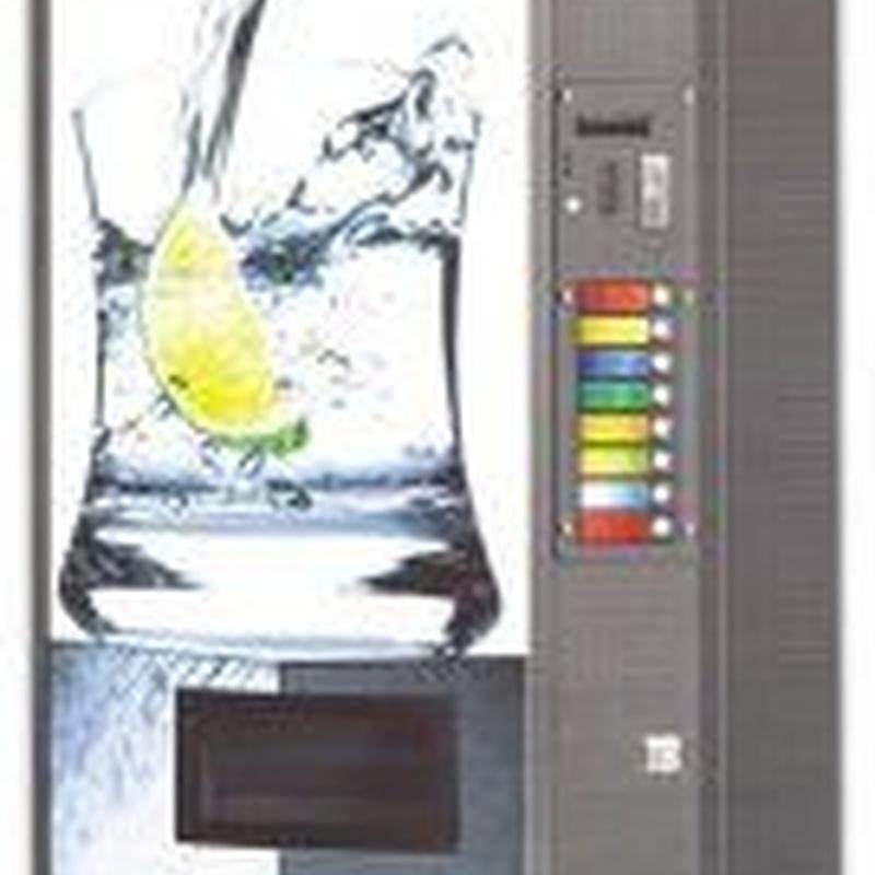 Expendedoras de bebidas: Catálogo de Edai Vending