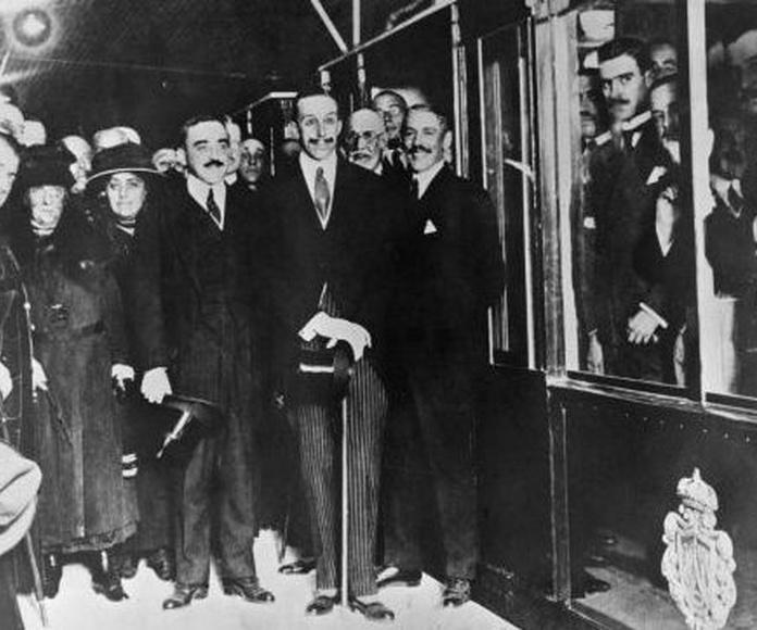 17 de octubre de 1919 inauguración del metro de Madrid
