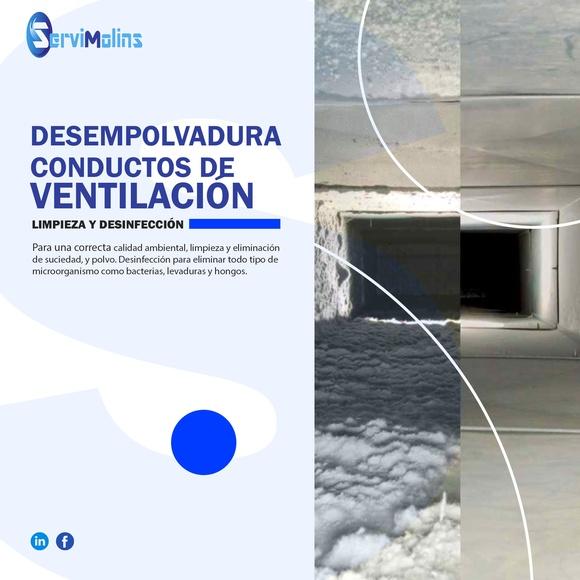 desempolvadura conductos de ventilación