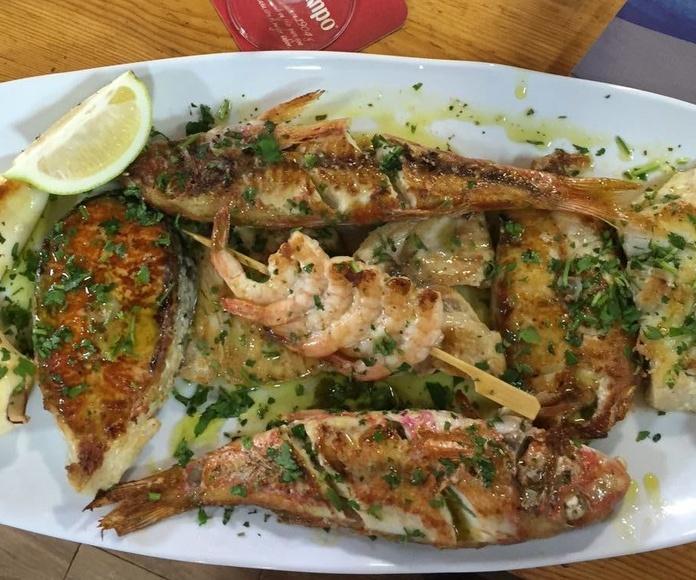 Platos combinado El Parnaso - Melilla