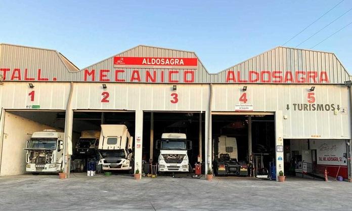 Taller de vehículos industriales: Servicios de Talleres Aldosagra