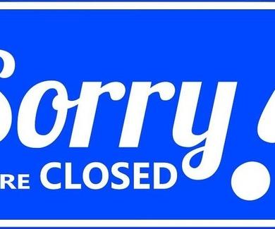Días cerrados en estas Fiestas