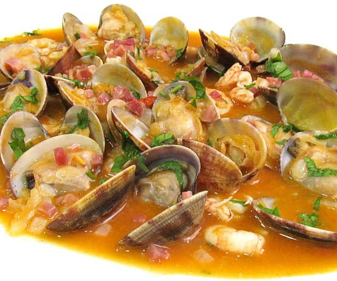 Almejas a la marinera: CARTA EL SEVILLANO de Restaurante Sevillano