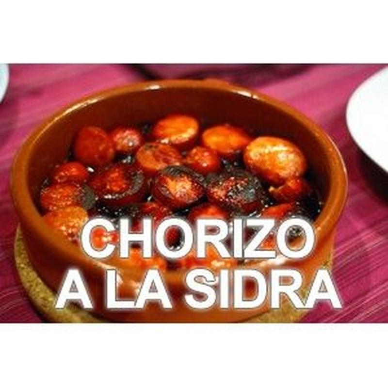 Chorizo a la sidra: Especialidades de Bar Casa Yoli