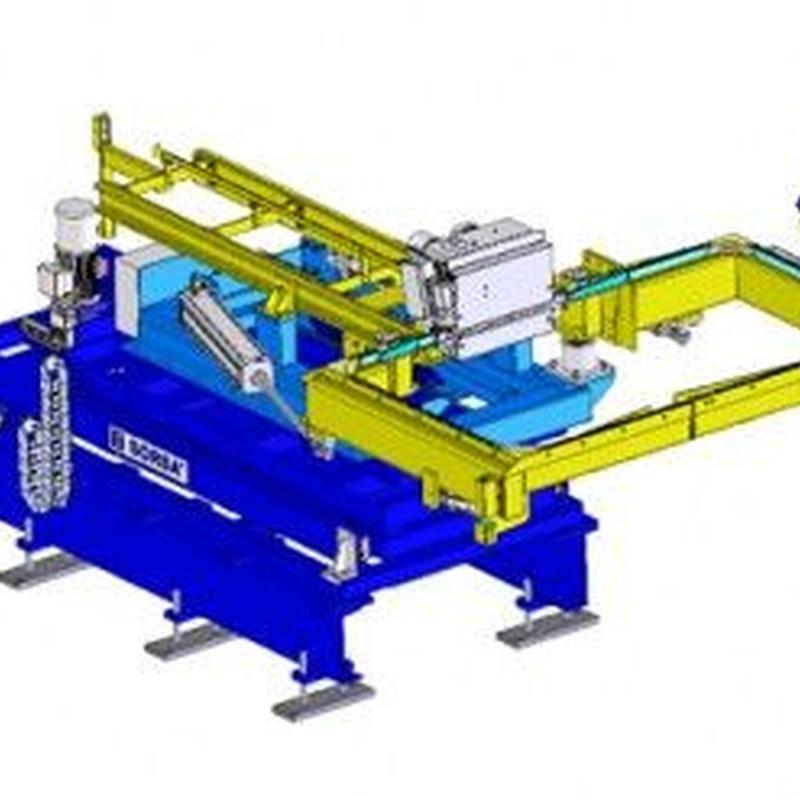 Instalaciones de flejado automático. Horizontal: Productos de Sistemas de Embalaje Miguel D, S.L.