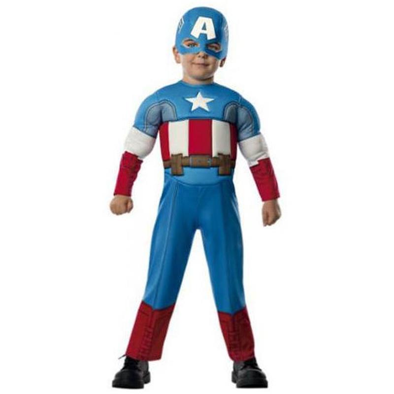 Disfraz Capitán América preschool