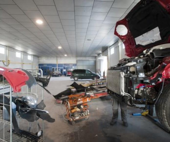 Reparación: Servicios de Talleres de Chapa - Pintura Fresneda Franco